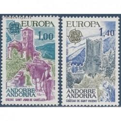 10x Andorra (french) 1977....