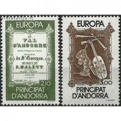 10x Andorra (french) 1985....