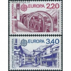 10x Andorra (french) 1987....