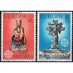 10x Andora (isp) 1974....