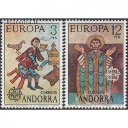 10x Andora (isp) 1975....