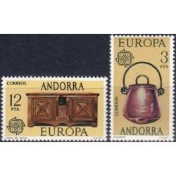 10x Andorra (spanish) 1976....