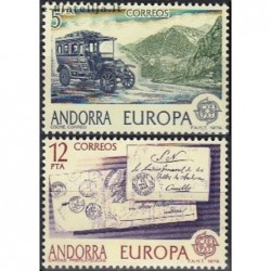 10x Andorra (spanish) 1979....