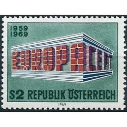 10x Austrija 1969. Europa...