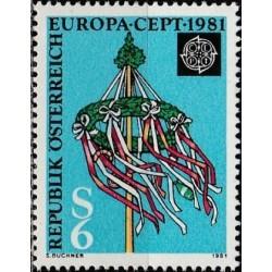 10x Austria 1981. Europa...