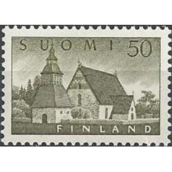 Finland 1956. Church