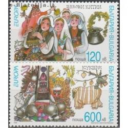 10x Bulgaria 1998. Europa...