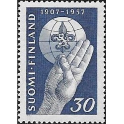 Finland 1957. Scout Movement