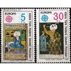 10x Turkų Kipras 1980....