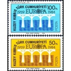 10x Cyprus (Turkey) 1984....