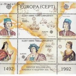5x Turkų Kipras 1992....