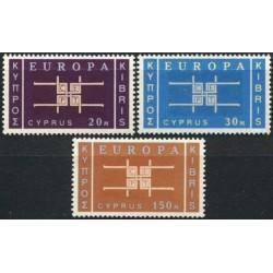 5x Kipras 1963. Europa CEPT...