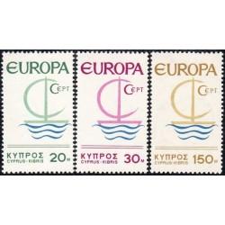 10x Cyprus 1966. Europa...