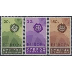 5x Cyprus 1967. Europa CEPT...