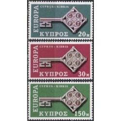 10x Cyprus 1968. Europa...