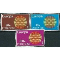 10x Cyprus 1970. Europa...