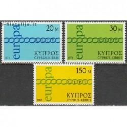 10x Cyprus 1971. Europa...