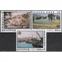 10x Cyprus 1977. Europa...