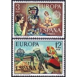 10x Spain 1976. Europa CEPT...