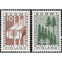 Finland 1959. Forest industry