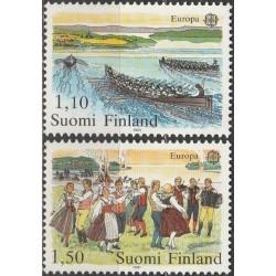10x Finland 1981. Europa...