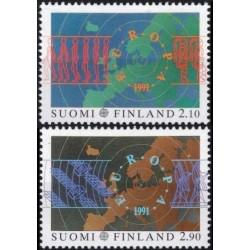 5x Finland 1991. Europa...