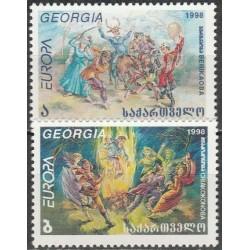 10x Georgia 1998. Europa...