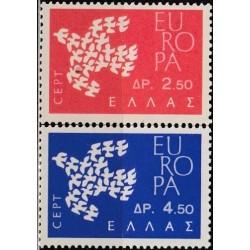 10x Graikija 1961. Europa...