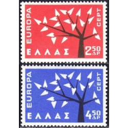 10x Greece 1962. Europa...
