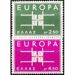 10x Graikija 1963. Europa...