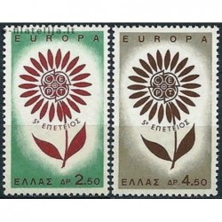 10x Graikija 1964. Europa...