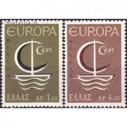 10x Graikija 1966. Europa...