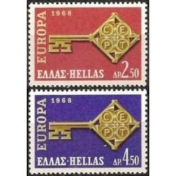 10x Graikija 1968. Europa...