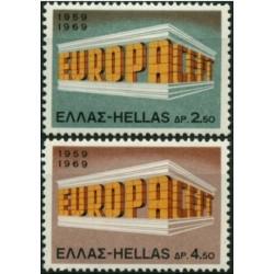 10x Graikija 1969. Europa...