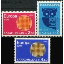 10x Greece 1970. Europa...