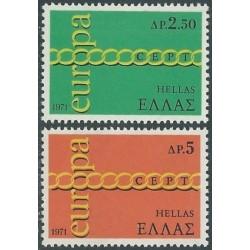 10x Greece 1971. Europa...