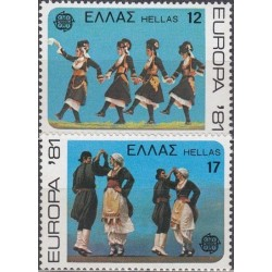 10x Greece 1981. Europa...