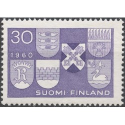 Finland 1960. Coats of arms...