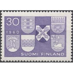 Suomija 1960. Miestų herbai...