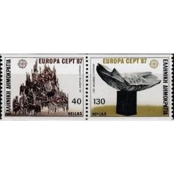 10x Greece 1987. Europa...
