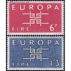 10x Airija 1963. Europa...