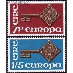 10x Airija 1968. Europa...