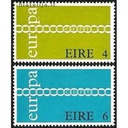 10x Airija 1971. Europa...