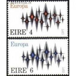 5x Airija 1972. Europa CEPT...