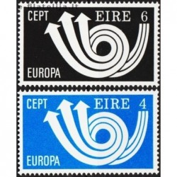 5x Airija 1973. Europa CEPT...