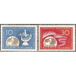 Suomija 1960. Geofizika
