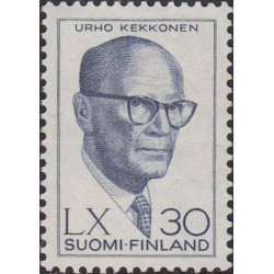 Suomija 1960. Prezidentas