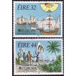 10x Ireland 1992. Europa...