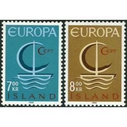 10x Islandija 1966. Europa...