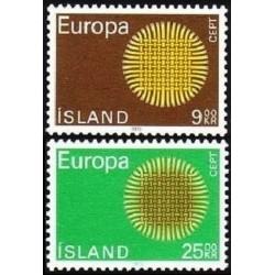 10x Islandija 1970. Europa...